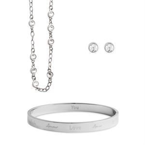 Picture of VICTORIA SILVER LOVE SET